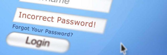 wachtwoord opgeven