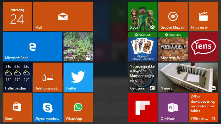 windows 10: apps