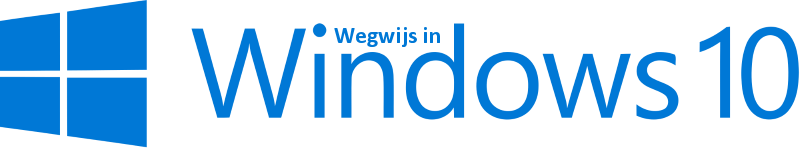 wegwijs in windows 10