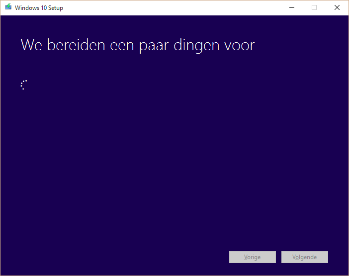 windows installatie voorbereiden
