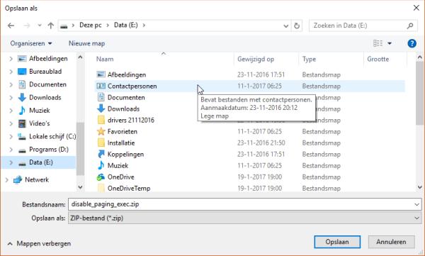 Microsoft Edge - Opslaan als activeren thumbnail