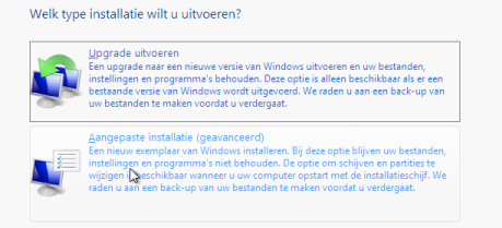 Windows 7 (opnieuw) installeren thumbnail