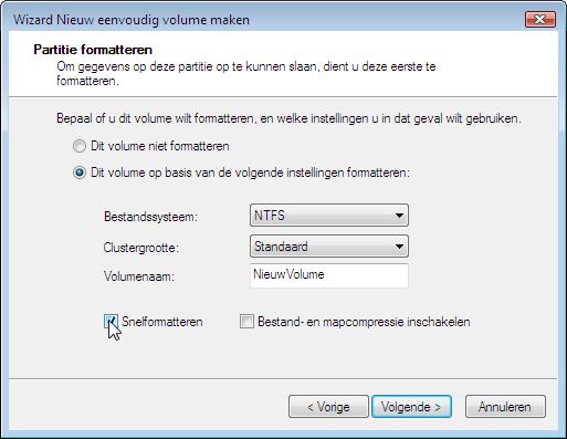 Windowscorner partities maken of aanpassen met schijfbeheer van windows - Een verwijderbare partitie maken ...