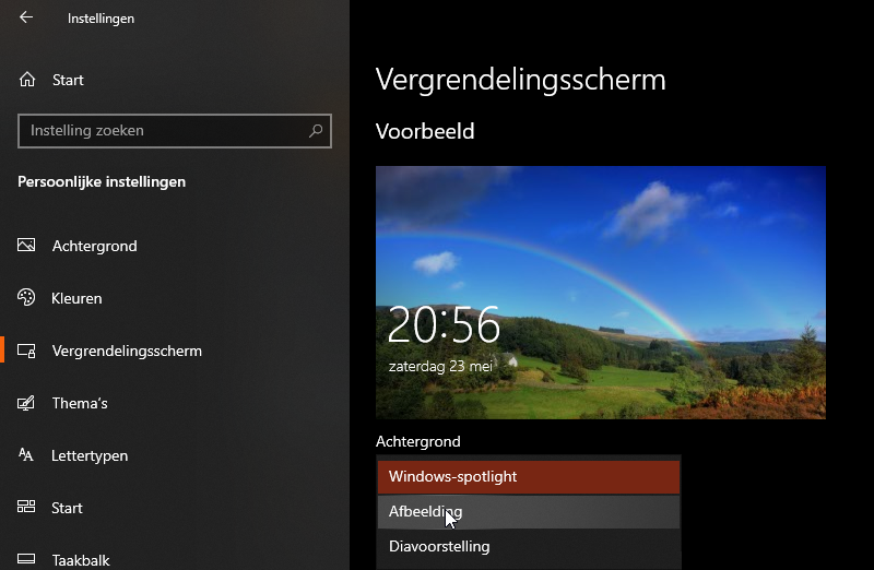 Interne advertenties van Windows 10 uitschakelen